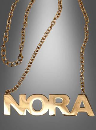 Deluxe NORA Kette gold für Pop Duo