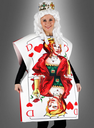 Playing Cards Costume for Women