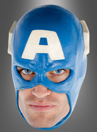 Captain America Latex Maske Deluxe
