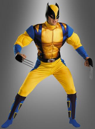 Wolverine Kostüm Deluxe aus X-Men