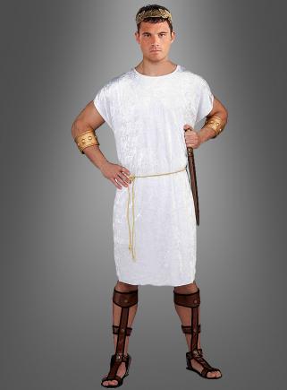 Weiße Römer Tunika