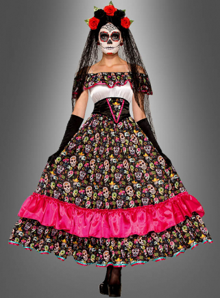 Day of Dead Spanish Lady