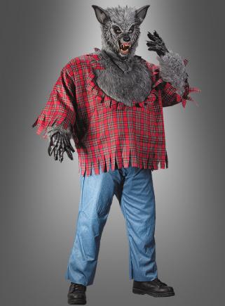 XXL Werwolf Kostüm Halloween Herren