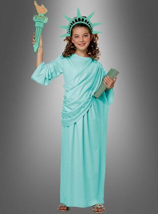 Lady Liberty Children Costume