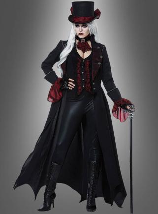 Vampir Lady Kostüm Deluxe