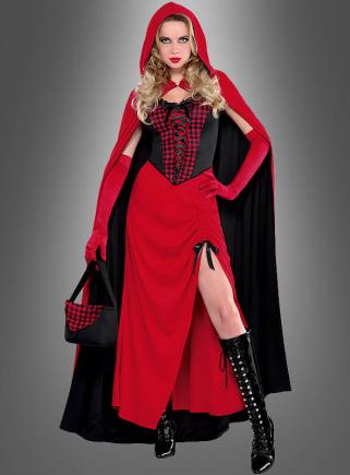 Rotkäppchen Kostüm mit Umhang