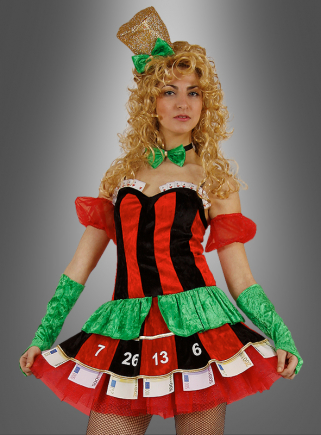 Casino Gambler Lady costume