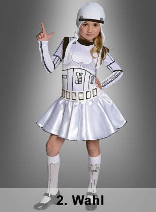 2. Wahl Stormtrooper Mädchenkostüm
