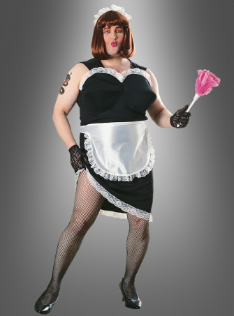 French maid funny costume for men
