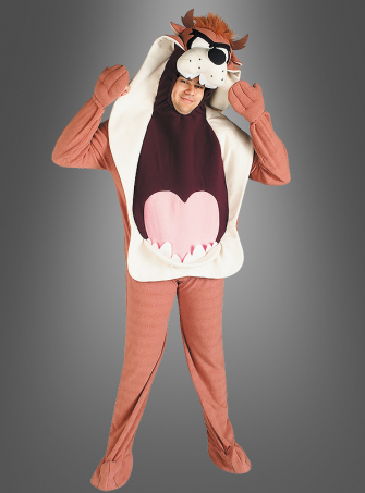 Adult Taz polar fleece costume
