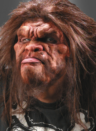 Caveman 2nd Skin Foam Latex mask