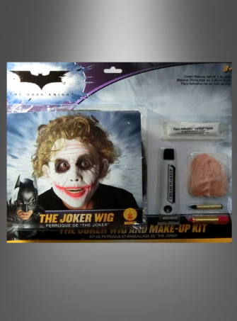 Deluxe The Joker Make Up Kit with Wig