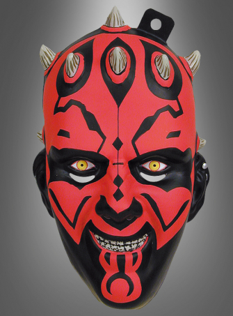 STAR WARS Darth Maul Halbmaske Erw.