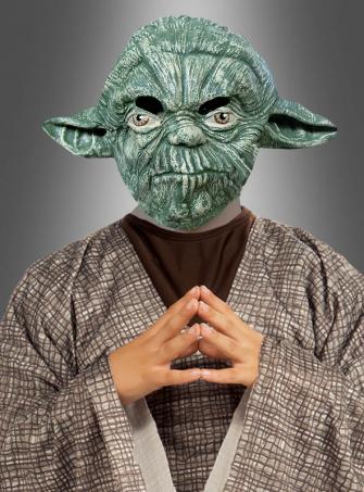 Yoda Maske STAR WARS für Kinder