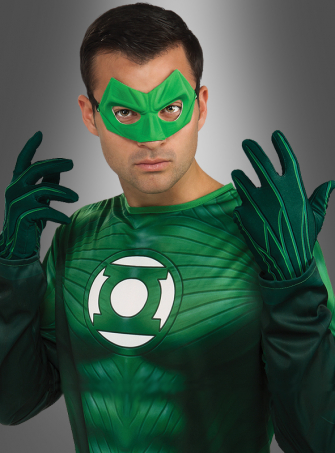 Green Lantern Adult Gloves