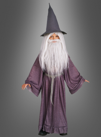 The lord of the rings Child Gandalf costume
