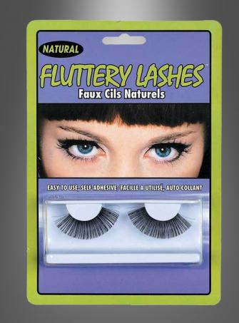 Long Natural Eyelashes black
