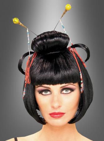 Geisha Wig black