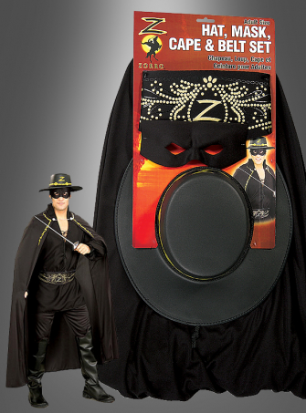 Zorro costume set