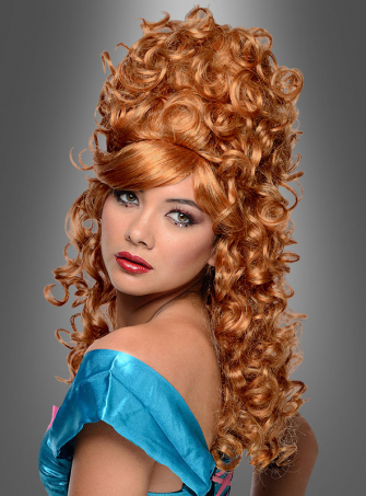 Curly Burlesque Wig red blonde
