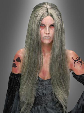 Zombie Hexe Perücke