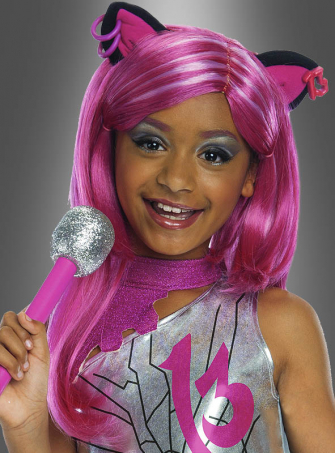 Catty Noir Wig from Monster High