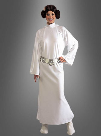 Leia Kostüm mit Perücke STAR WARS