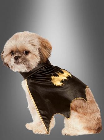 Batgirl Hundekostüm Cape
