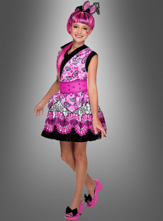 Draculaura Costume Monster High with Wig