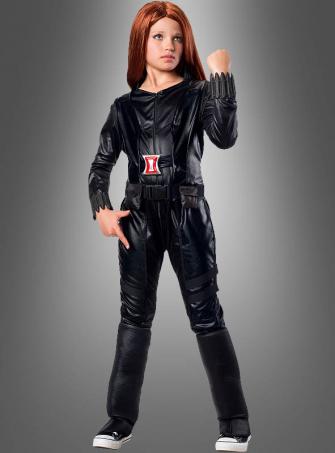 Black Widow Children Costume