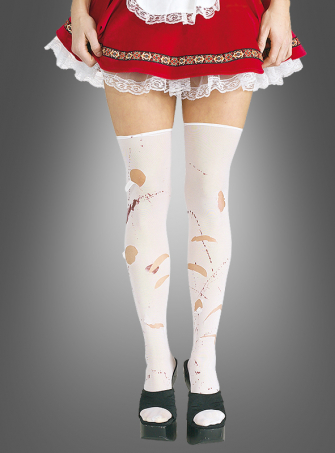 Malice's Stockings with blood