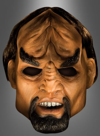 Star Trek overhead Worf latex  mask