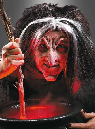 Latex teuflische Hexenmaske