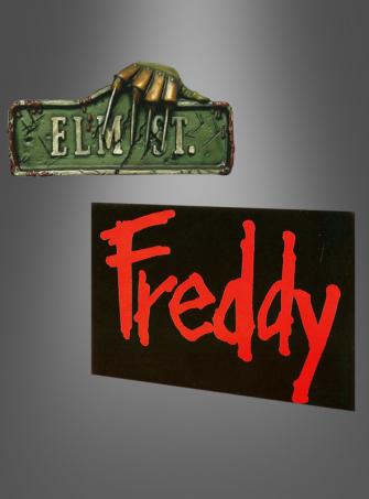Freddy Krueger Halloween Dekoration