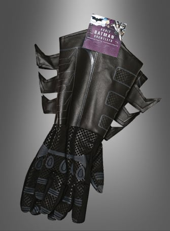 Adult Batman Gauntlets Dark Knight