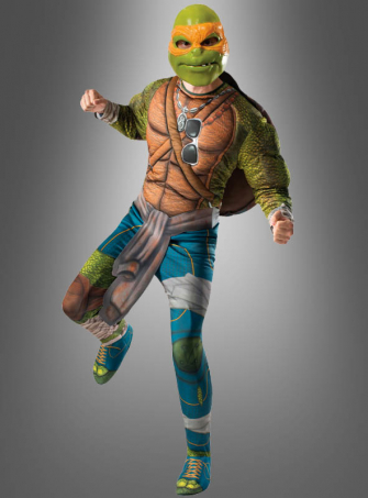 Ninja Turtles Kostüm Michelangelo für Erwachsene