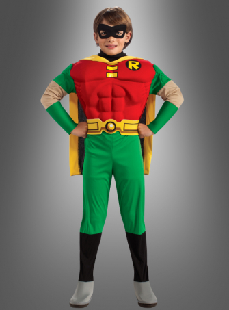 Muscle Chest Robin Child costume
