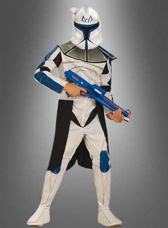 Star Wars Clone Trooper Captain Rex Children costume