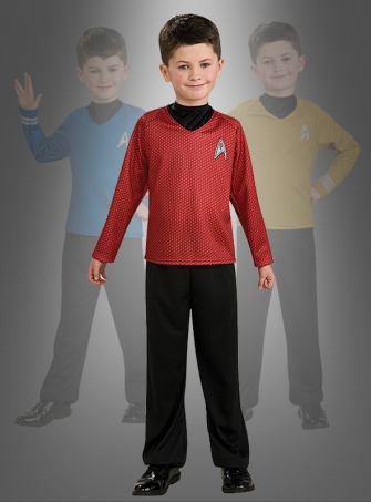 STAR TREK Shirt red child