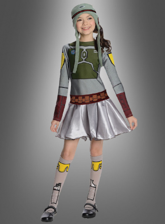 Boba Fett Dress for Girls Star Wars