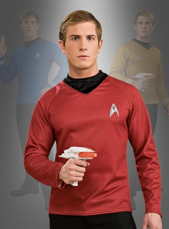 STAR TREK XI Filmkostüm Scotty rot