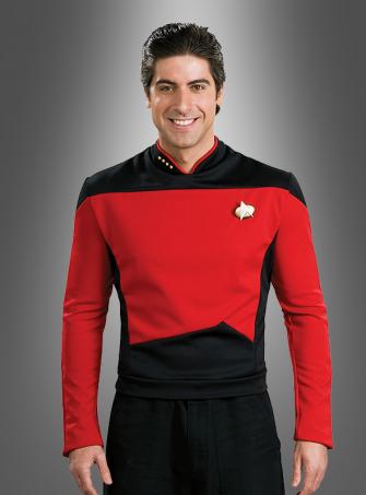 STAR TREK Shirt  The next Generation red