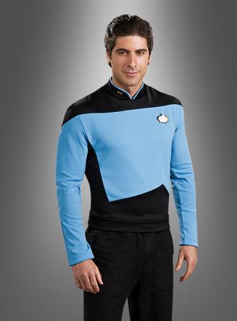 STAR TREK blaues Shirt The Next Generation