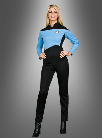 STAR TREK Anzug Next Generation blau