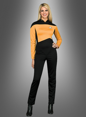 STAR TREK TNG Uniform gold