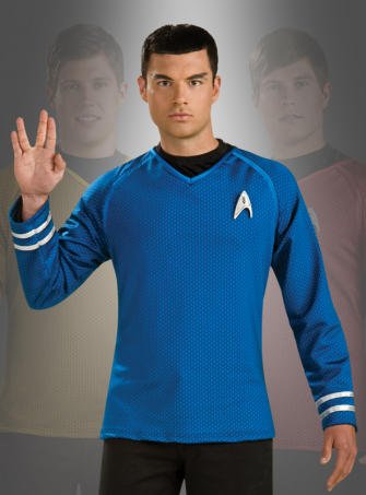 Star Trek Grand Heritage Crew Shirt  blue