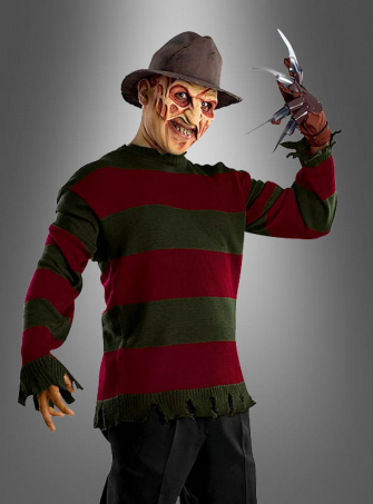 Freddy Krueger deluxe sweater teen
