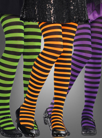 Children Striped Tights