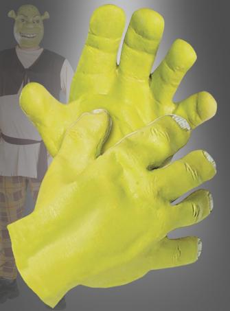 Shrek Latex Hands
