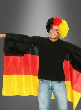 Deutschlandfahne Poncho